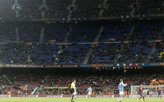 Barcelona: Camp Nou empty during Copa del Rey games