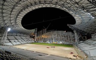 Marseille: Velodrome revamp nearing completion