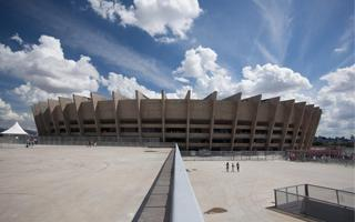 Belo Horizonte: Mineirão given extreme weather test