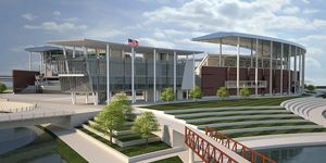 Texas: McLane Stadium opening in August?