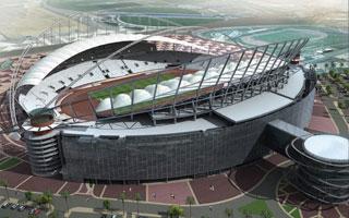 New design: Khalifa Stadium
