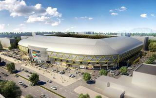New construction: Stadion Hristo Botev