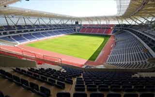 Turkey: Football opening of Mersin Arena