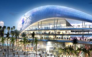 New design: David Beckham's Port of Miami Stadium