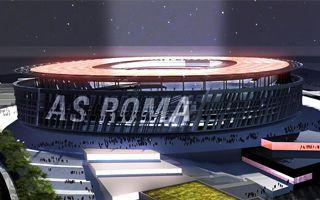 New design: AS Roma's own coliseum