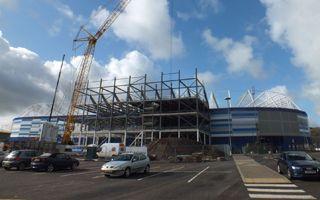 New construction: Cardiff City Stadium