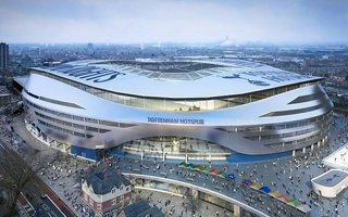 London: Tottenham's stadium blocked by... Tottenham's supporter