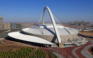 New stadiums: Zibo, Ordos, Nantong