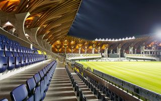 New stadium: Puskás Akadémia Pancho Aréna