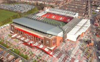 New design: Liverpool unveils Anfield with new main stand