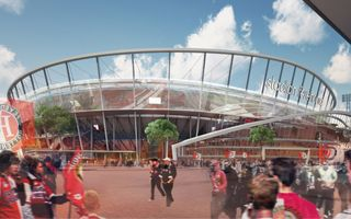 Rotterdam: Winning concept of De Kuip selected