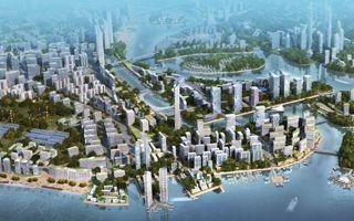 Malaysia: Super stadium in the Johor Strait