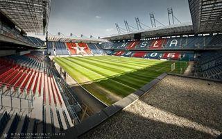 Poland: Wisła Kraków stadium still empty