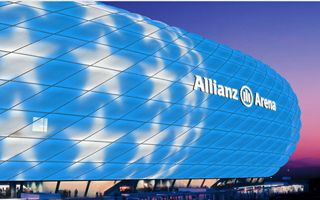 Munich: Allianz Arena's illumination reinvented