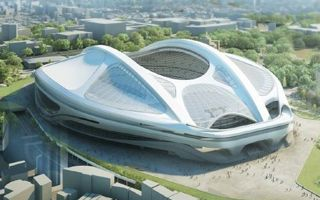 Tokyo: New, (slightly) smaller National Olympic Stadium