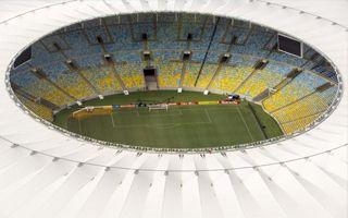 Rio de Janeiro: Nervous attempts to prepare Maracana's field