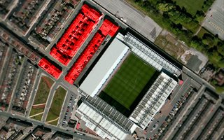 Liverpool: Demolition around Anfield begins