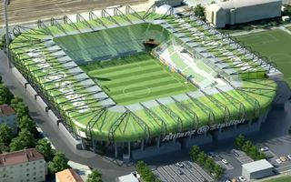 New design: Allianz Stadion