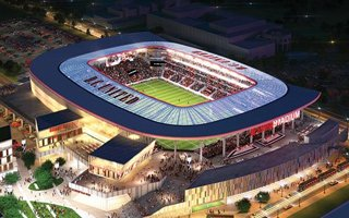 New design: DC United Stadium