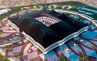 New design: Stadium disguised as a tent