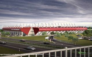 Germany: Regensburg new arena sponsored by Continental