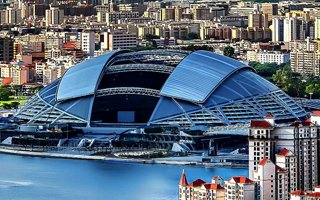 New stadium: Singapore National Stadium