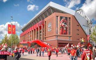 Liverpool: Carillion named preferred bidder for Anfield