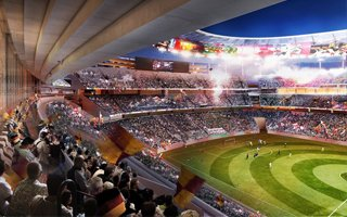 Rome: AS Roma reveals new details of the future stadium