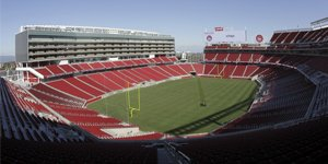 New stadiums: Levi's Stadium and Candlestick Park