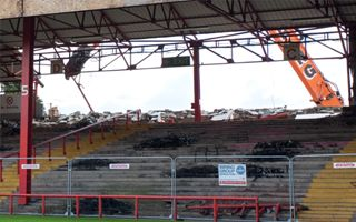 New construction: Ashton Gate transformation begins