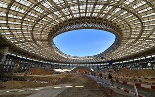 New construction: Old, new, legendary Luzhniki
