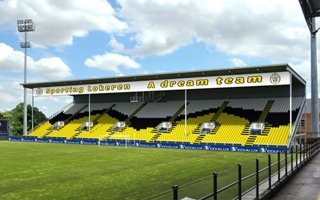 Belgium: New stand in Lokeren opened