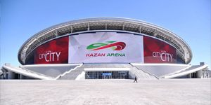 Kazan: Kazan Arena (re)opened for league after a year