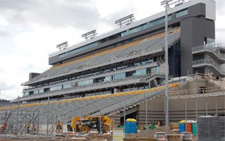 Canada: Hamilton stadium still not ready