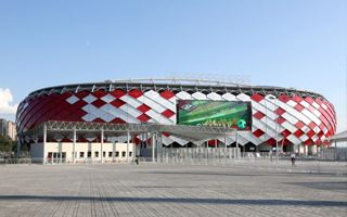 New stadium: Otkritie Arena opened by Putin