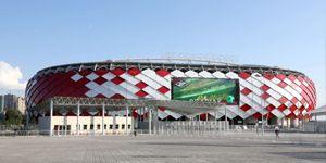 New stadium: Otkritie Arena opened by Putin