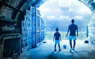 Gelsenkirchen: Schalke transforms player tunnel into mine shaft