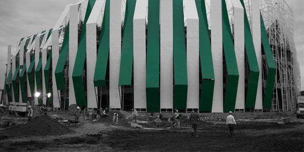New stadium: The Sugarcane Jungle in Mexico
