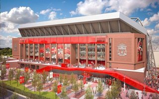 Liverpool: Anfield expansion approved by planning officials