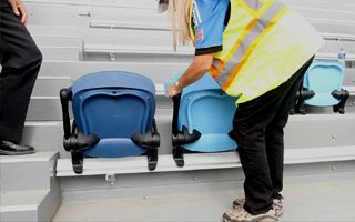 San Jose: First seats installed, new layout presented