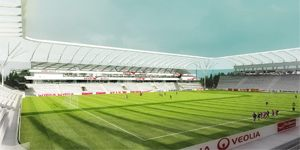 New stadium and design: Change of plans in Dijon
