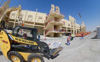 New constructions: Al-Rayyan and Al-Wakrah Stadiums in progress