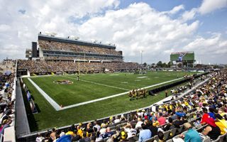 New stadium: Tim Hortons Field