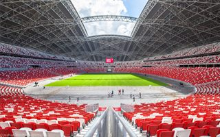 Singapore: Shameful sell-out? The superstadium with not so super turf