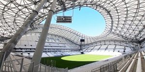 Marseille: Vélodrome opened after reconstruction