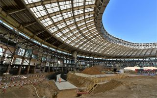 Moscow: Luzhniki ahead of schedule