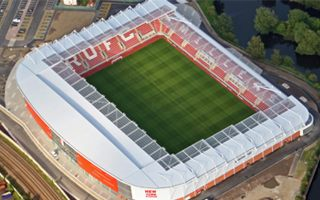 Rotherham: Commercial complex next to New York Stadium?