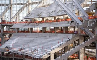 Minneapolis: Impressive progress at Vikings stadium