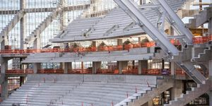 Minneapolis: Impressive progress at Vikings stadium