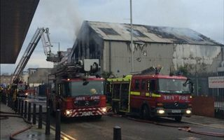 London: Tottenham's uncomfortable neighbours up in flames